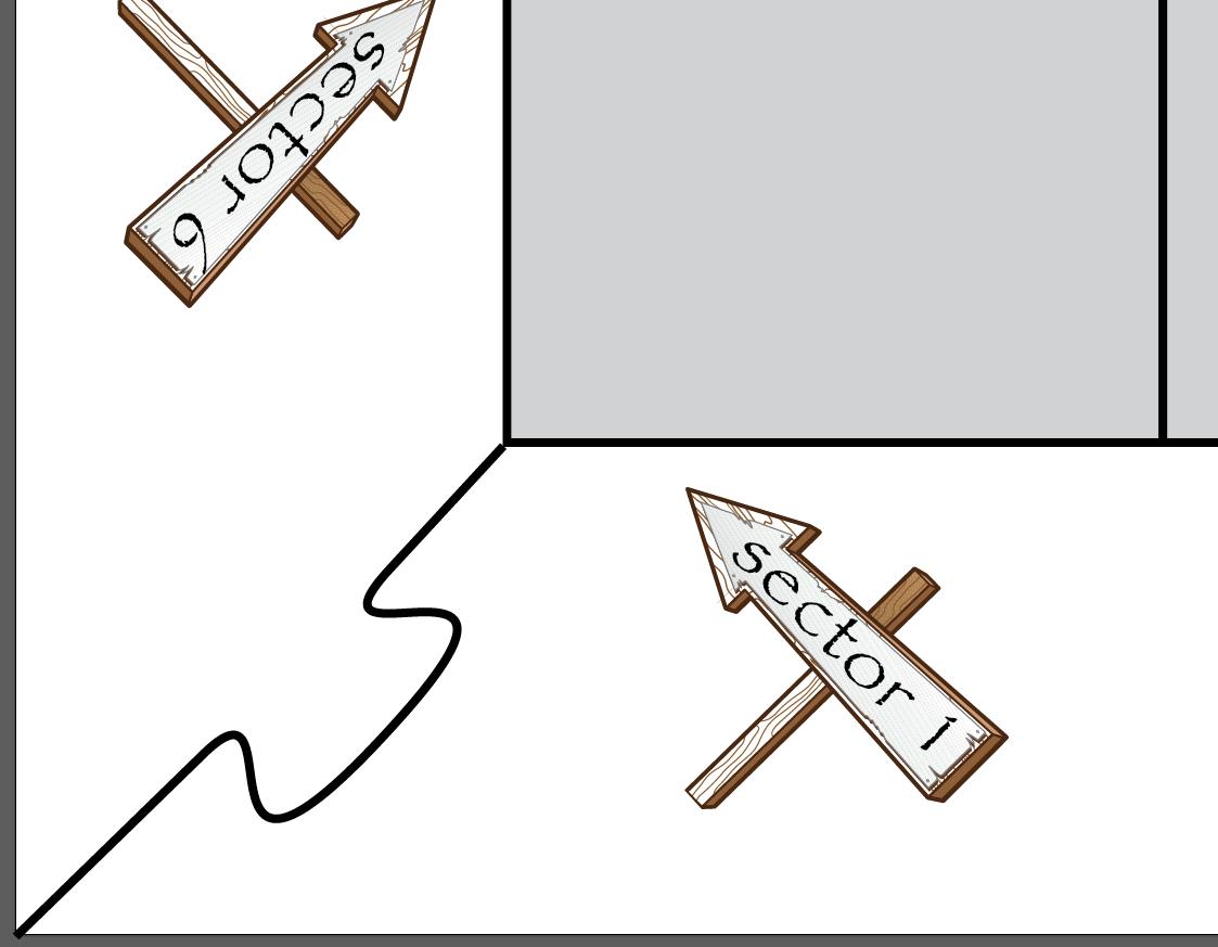 Rámeček rohový zámek
